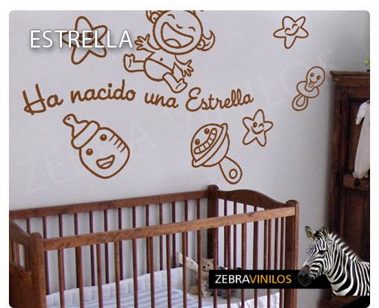 ZEBRA VINILOS Vinilos Bebe Habitación, Infantil bebes y Premamá ...