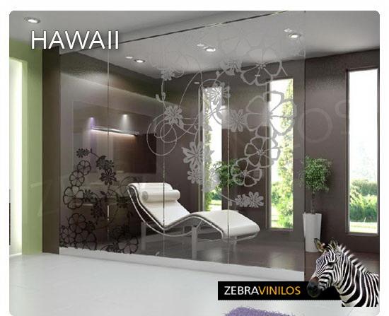 Zebra Vinilos Hawaii Cristales Vinilos Decorativos