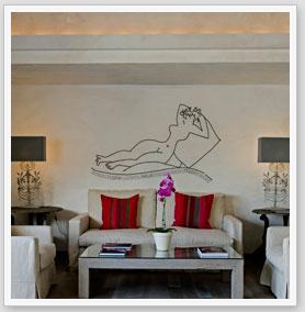 Zebra vinilos adhesivos decorativos cabeceros camas vinilos for Vinilos decorativos habitacion matrimonio