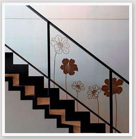 Zebra vinilos vinilos para escaleras vinilos - Pegatinas para las paredes ...