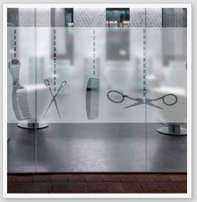 Zebra vinilos peluquer a vinilos para decorar tu for Disenos de espejos para peluqueria