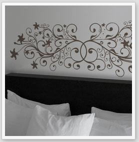 Zebra vinilos adhesivos decorativos cabeceros camas vinilos - Vinilos decorativos salon ...