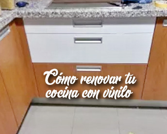Renueva tu cocina con vinilo